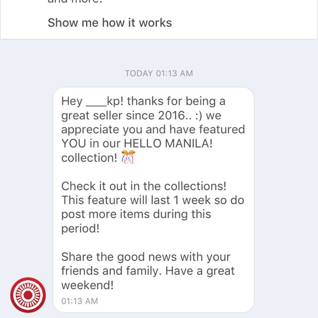 Thank you, Carousell! ☺️