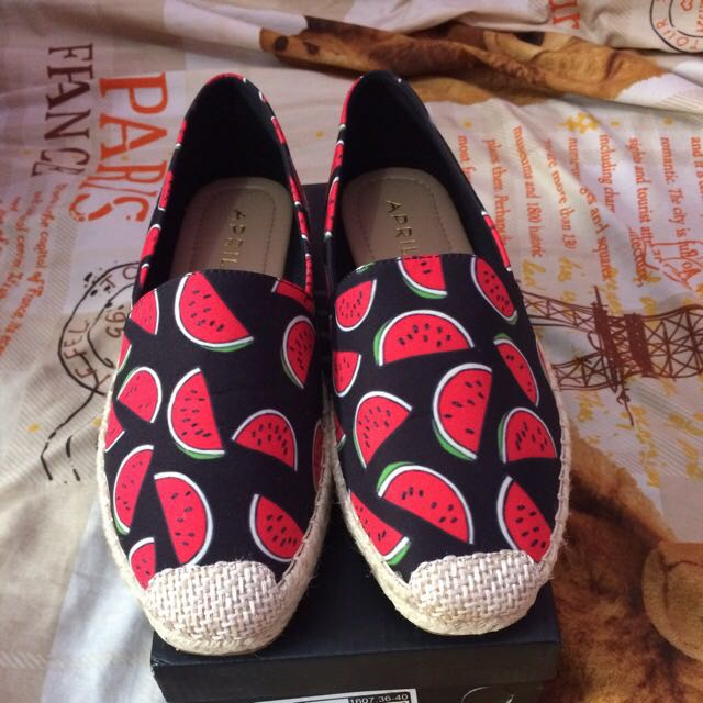 This Is April Slip On Watermelon