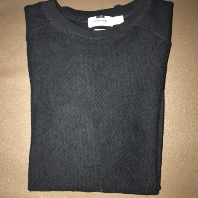Topman LongSleeve Black Classic Sweater