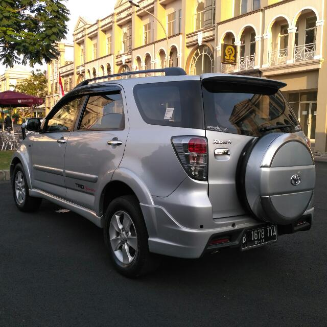 Toyota Rush S TRD Sportivo limited 2013/2014AT TDp 20jt siap di Gas