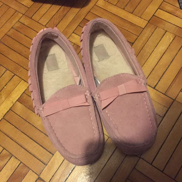 UGG pink Suede slippers size 6.5-7