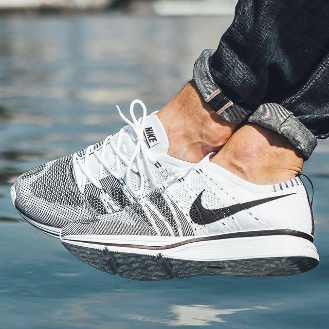 "los Angeles diseño popular calidad y cantidad asegurada UK 9.5/US 10.5 Nike Flyknit Trainer OG ""The Return"", Men's Fashion ..."