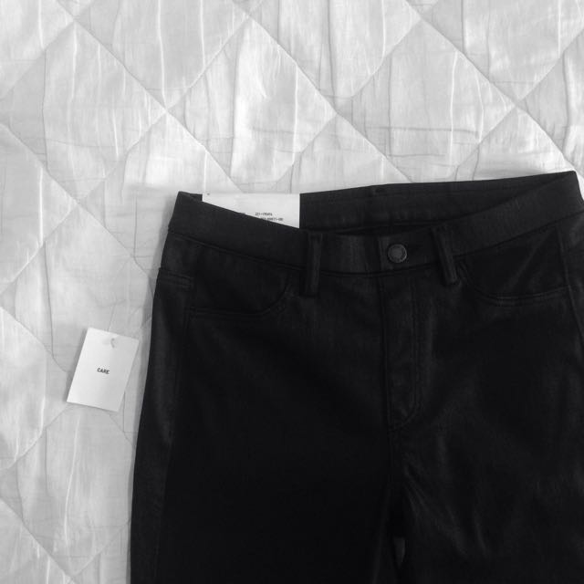 Uniqlo Black Skinny Jeans