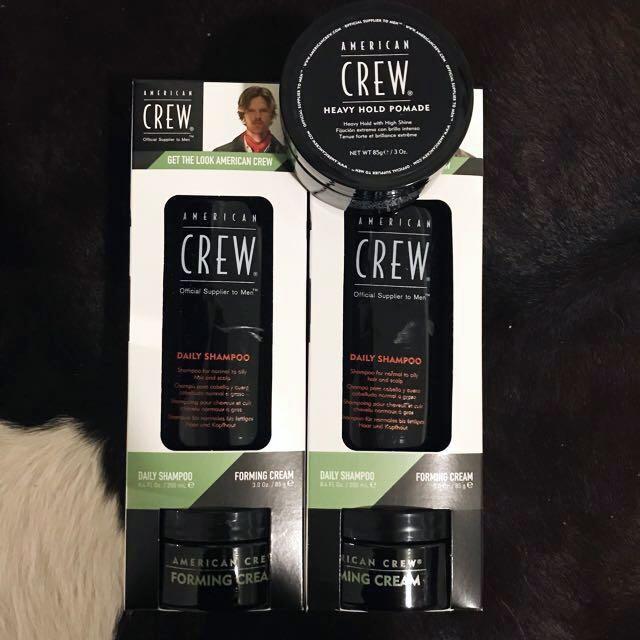 Unisex American Crew - shampoo and creams