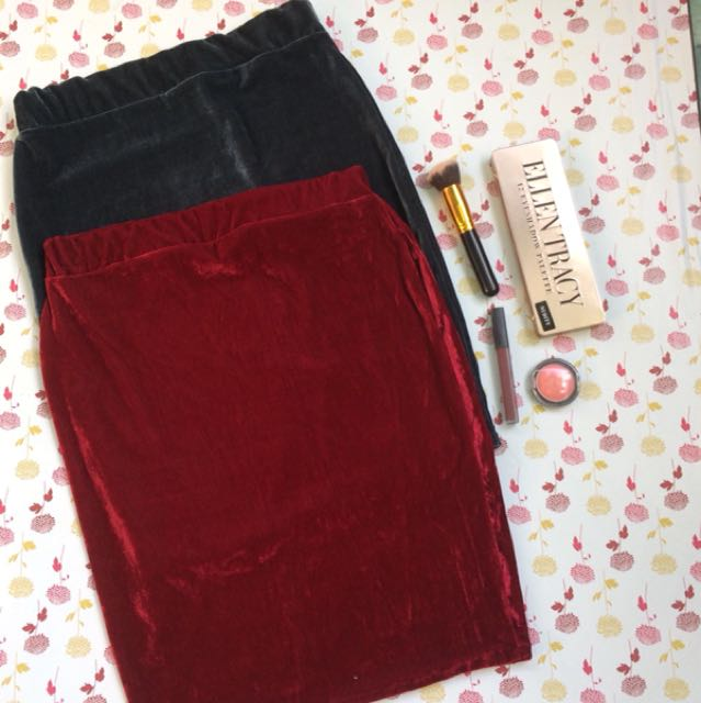 Velvet Office skirt 2 for 300