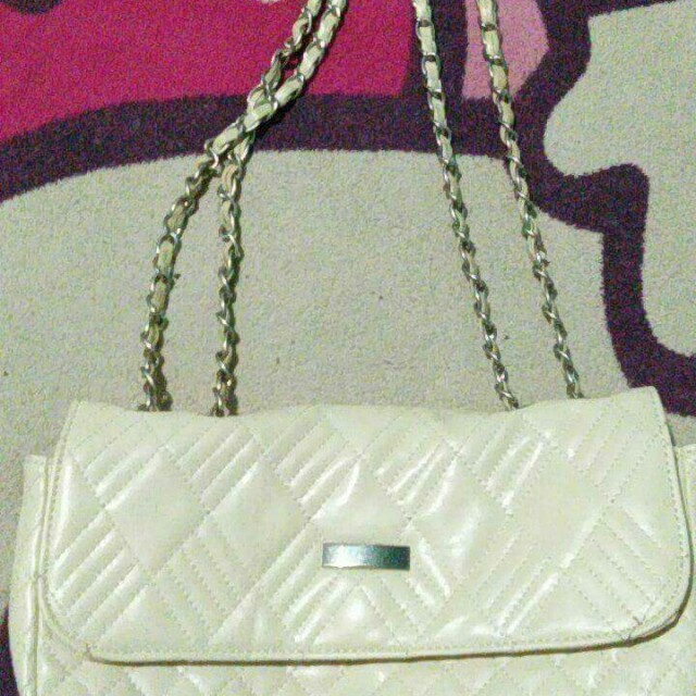 White Party Sling Bag