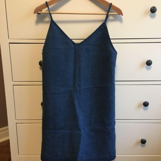 Wilfred free denim dress