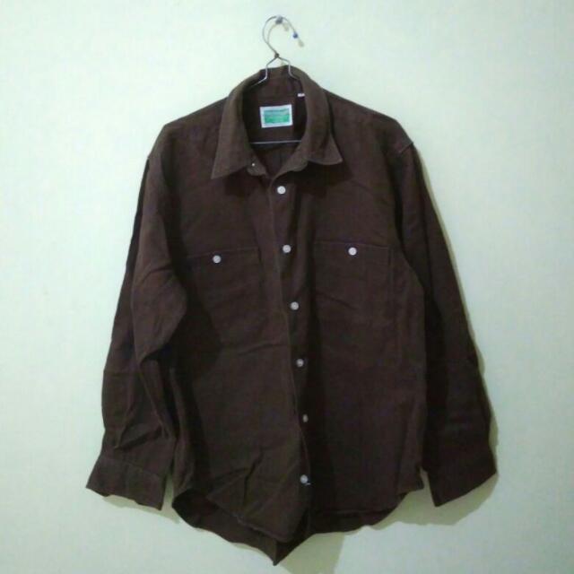 Work Brown Shirt