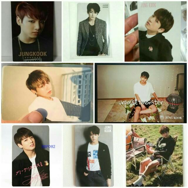 [WTB] BTS Jungkook photocards