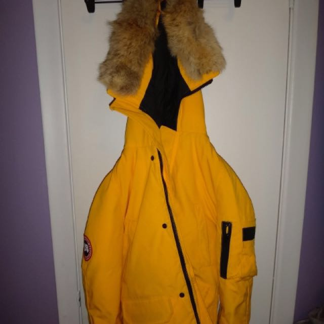 Yellow Canada Goose Coat