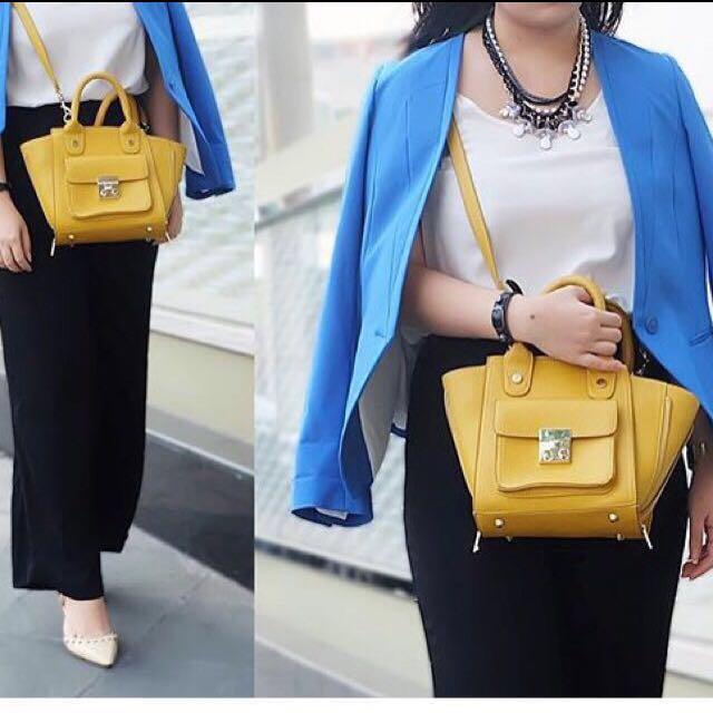 Yellow fashion bag / tas kuning #FLG