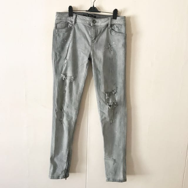 Zara Distressed Pants