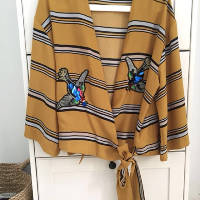 Zara Lookalike Birdie Top