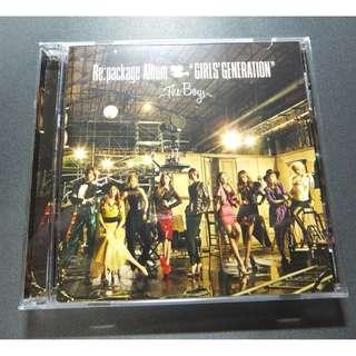 (UNSEALED) GIRLS GENERATION (SNSD) // JAPAN ALBUM - REPACKAGE ALBUM: GIRLS GENERATION THE BOYS