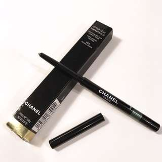 全新Chanel WATERPROOF LONG LASTING EYELINER 防水眼線筆 #925 Pacific Green