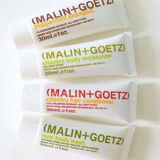 Travel Sized Malin + Goetz