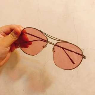 粉色 太陽眼鏡