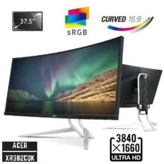 """[SITEX PROMO TILL 4th DEC] Acer Predator XR382CQK 38"""" 3840x1600 UltraWide QHD Curve IPS LED Monitor w/ AMD FreeSync"""