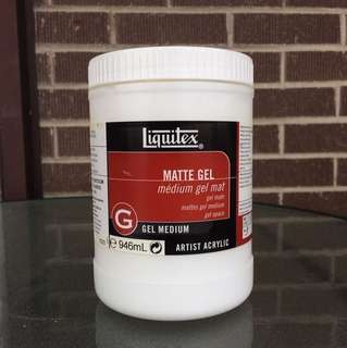 Matte Gel Medium 946mL