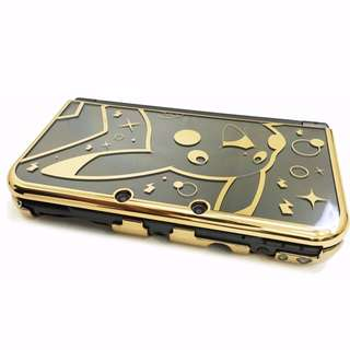 Hori Pikachu Gold Casing for New 3DS XL