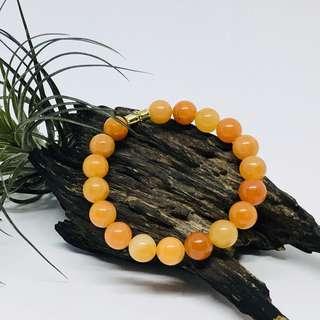 Carnelian Crystal Bracelet