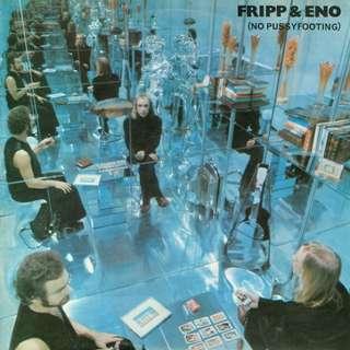 Fripp & Eno - No Pussyfooting (1977 UK Polydor) Vinyl