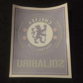 Chelsea car sticker