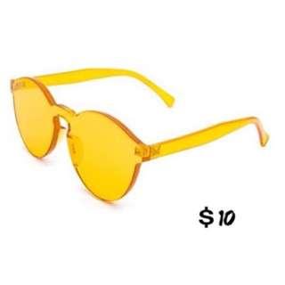 Brand New Yellow Sun Glasses