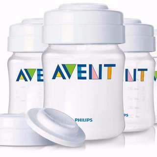 Avent Breast Milk Storage - 4 Bottles