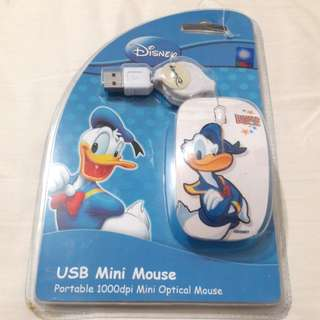 Mouse USB mini Disney