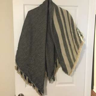 Reversible Blanket Scarf