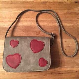 Mini Shoulder Heart Bag - no brand