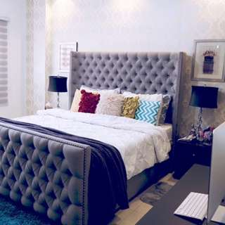 MTO Tufted Bed