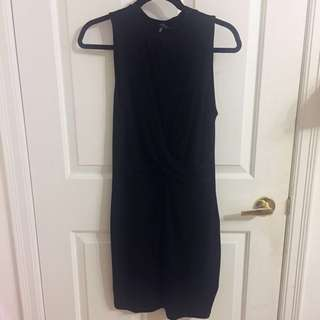 Black Dynamite Front Knot Dress size M