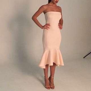 Blush formal dress