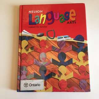 Nelson Language Arts 3 Hand in Hand elementary school grade 3 textbook