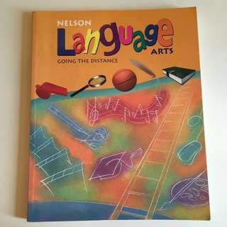 Nelson Language Arts 6 Going the Distance elementary school grade 6 textbook