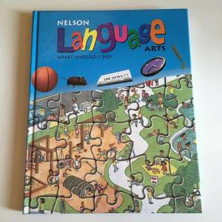 Nelson Language Arts 5 What Should I Do? Elementary school grade 5 textbook