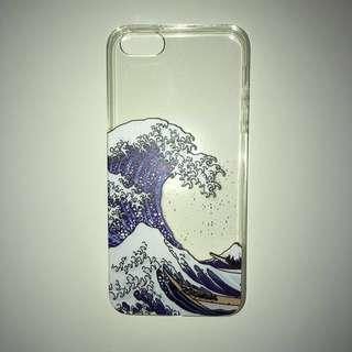 iPhone 5/5s/SE case📱waves, blue ocean, water TPU