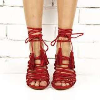 Windsor smith NEW 'crazie' heels res size 9 (fits 8-9)