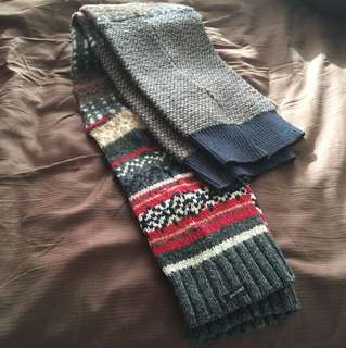 Preloved thigh high legwarmers