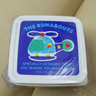 The Runabouts 膠盒 1988 Sanrio 日本製