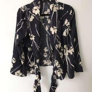 Silk Blazer/Blouse