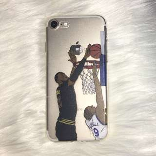 Clear Basketball iPhone 7 Case
