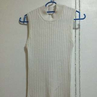 Ribbed Top Turtle Neck