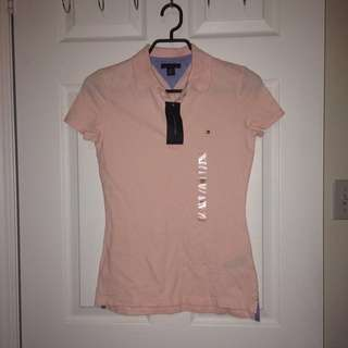 Tommy Hilfiger Pink Polo Tshirt