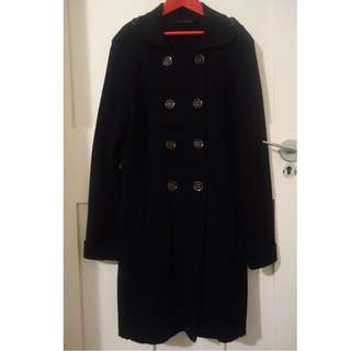 David Lawrence Wool double breasted coat/jacket - size M