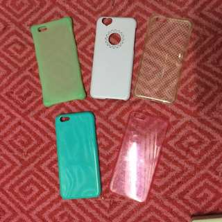 5pcs iphone 6/6s case for only 120php