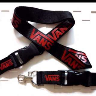 Vans Lanyard with Detachable Clip & Phone Strap
