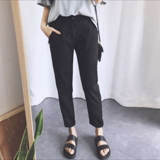 Black semi formal pants